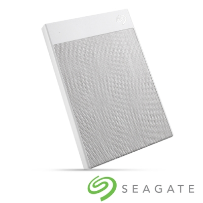 Seagate Backup Plus Ultra Touch 2TB 外接硬碟-晨霧白