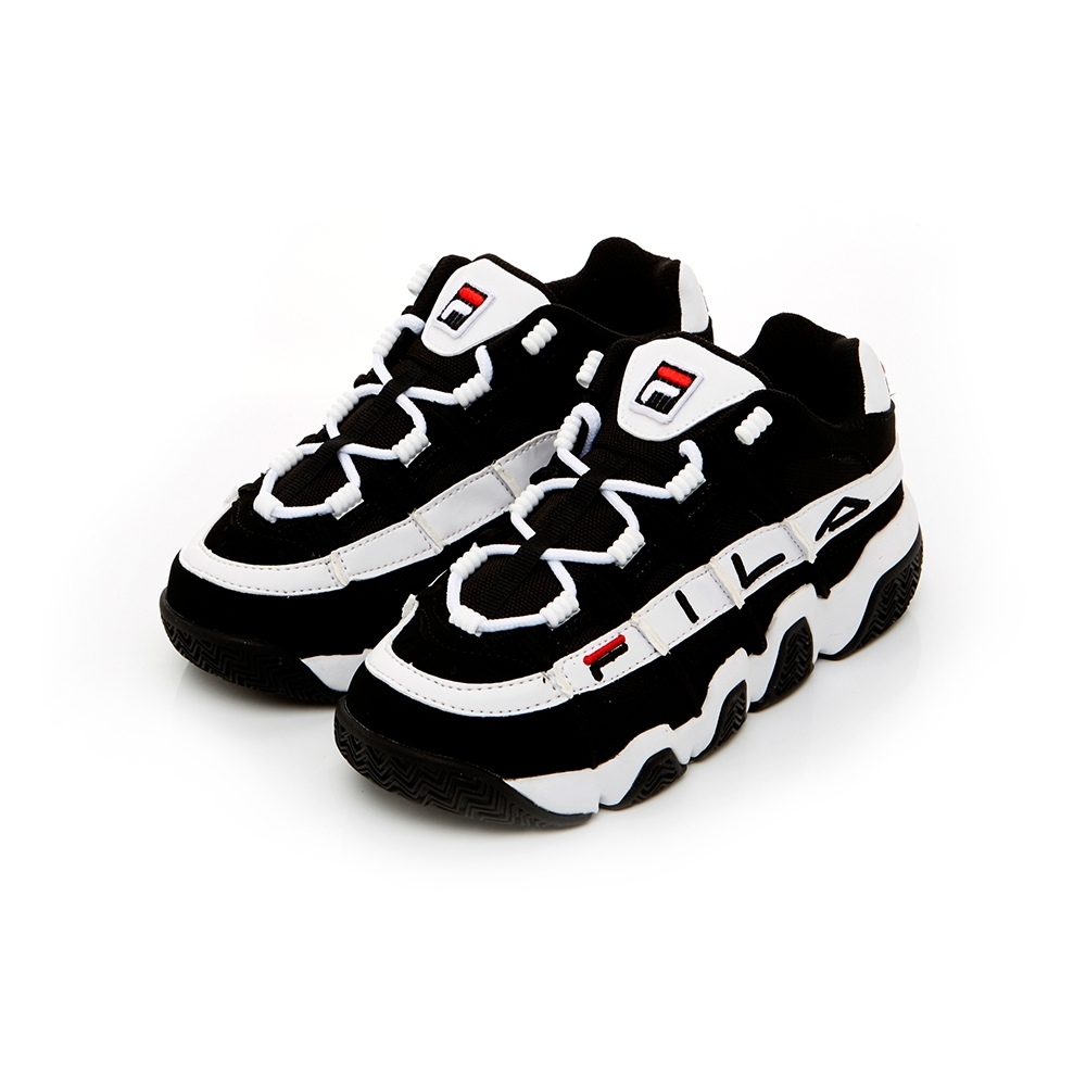FILA BARRICADE中性復古運動鞋-白/黑 1-B007U-001 @ Y!購物