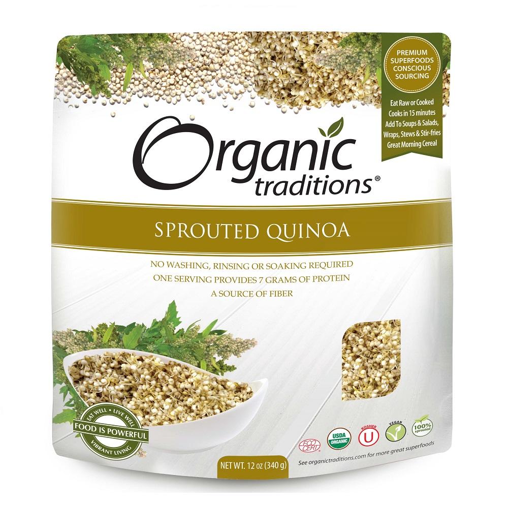 Organic Traditions 有機發芽藜麥340g