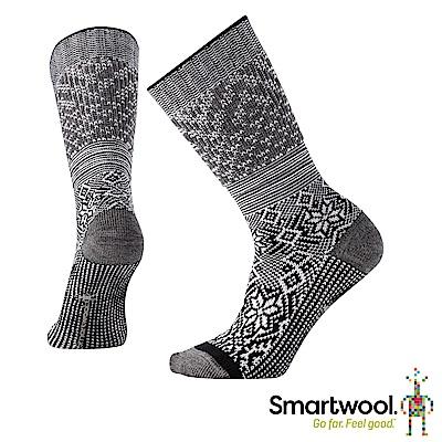 SmartWool 跳舞雪花中長襪 黑色