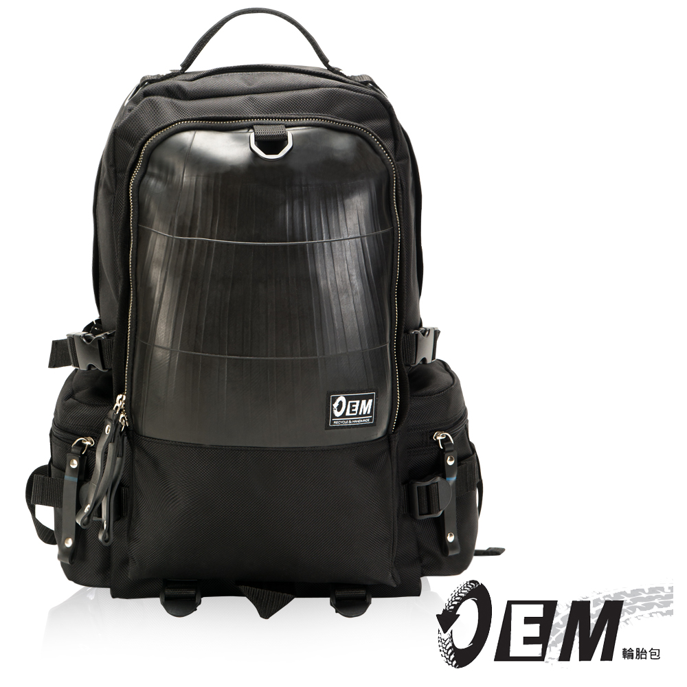 OEM- 製包工藝革命 綠色潮流 大容量後背包-黃色