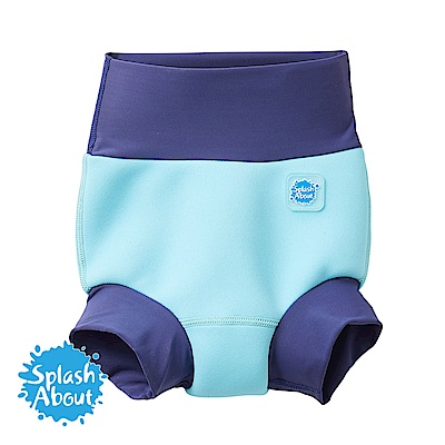 潑寶 Splash About 3D加強版 游泳尿布褲 - 海洋藍
