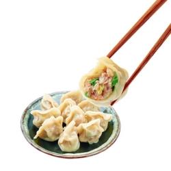任選_鄉味 蔥肉水餃(50顆/包)