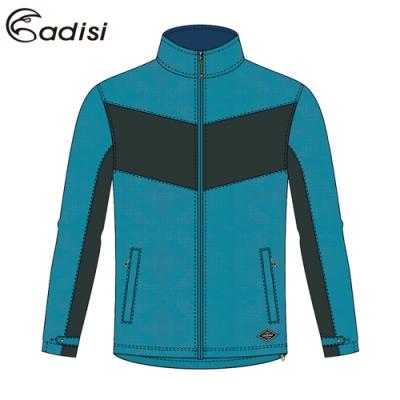 ADISI 男天鵝絨超撥水防風保暖立領外套AJ1921063