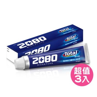 韓國2080 全效護理牙膏130gX3入