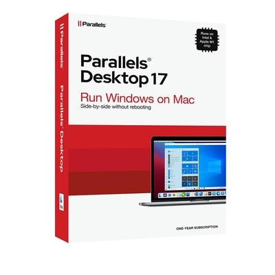 Parallels Desktop 17 for Mac 教育版一年期訂閱
