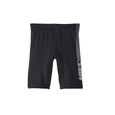 NIKE 男 孩及膝泳褲  SWIM 黑白灰