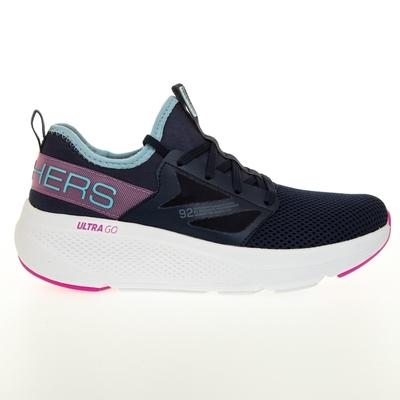 SKECHERS GO RUN ELEVATE 女慢跑鞋-藍-128317NVBL