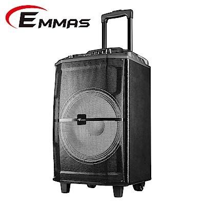 EMMAS 福利品拉桿移動式藍芽無線喇叭 (T88)