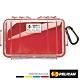 美國 PELICAN 1050 Micro Case 微型防水氣密箱-透明(紅) product thumbnail 1