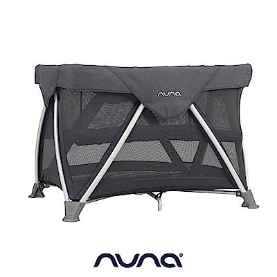 荷蘭nuna-SENA aire多功能嬰兒床(灰藍色)