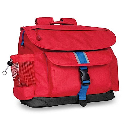 美國Bixbee 經典系列活力紅中童輕量舒壓背書包