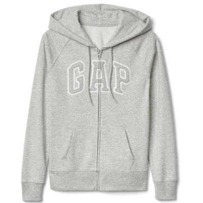 GAP 女生 連帽外套 灰 1402