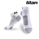 Titan太肯 3雙功能慢跑訓練襪_白竹炭(純棉保暖超好穿)