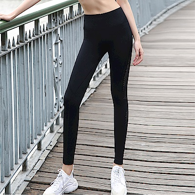 【KISSDIAMOND】清涼透氣強力顯瘦運動緊身褲-053