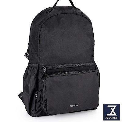 74盎司 Further 旅行後背包[TG-227]黑