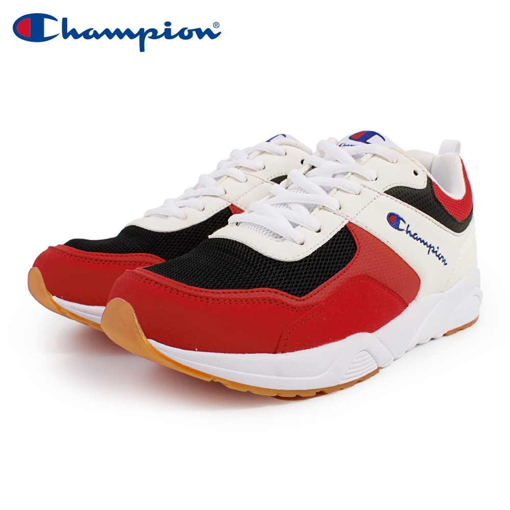 【Champion】TRACE BACK 復古運動鞋 女鞋-白/紅/黑(WFUS-9020-31) product image 1