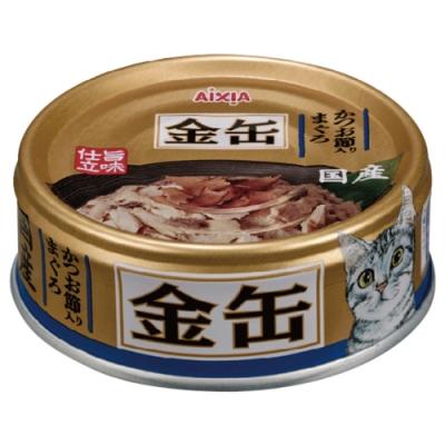 Aixia 愛喜雅-愛喜雅金缶35號鮪魚+柴魚口味(70gX24罐))