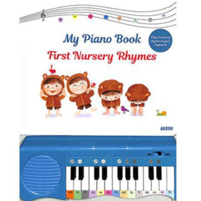 My Piano Book:First Nursery Rhymes 我的鋼琴音樂書:兒歌