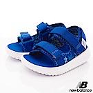 NewBalance 輕量織帶涼鞋款 HSE50BP藍(小童段)