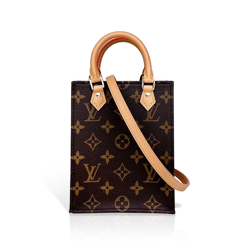 Louis Vuitton PETIT SAC PLATA Nano tote迷你琴譜包/手提斜背二用包(M69442)