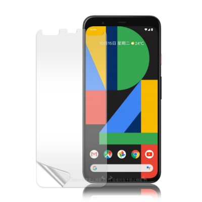 VXTRA Google Pixel 4 高透光亮面耐磨保護貼 保護膜