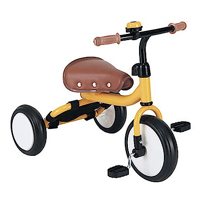 日本mimi-trike超可愛三輪車-橘黃