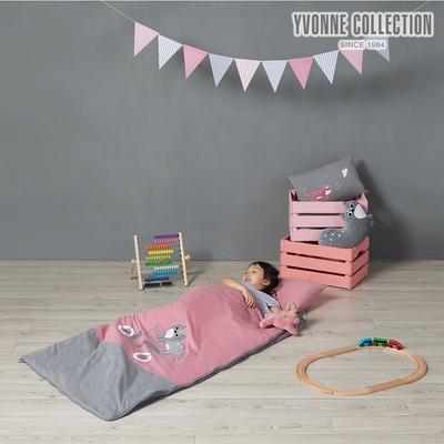 YVONNE COLLECTION 石虎兒童睡袋-活力粉