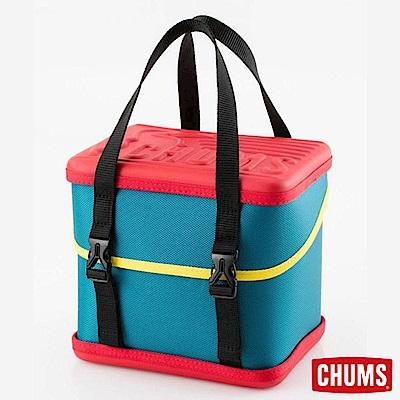 CHUMS 日本 Booby Cube 可提式方型收納盒 紅/藍綠