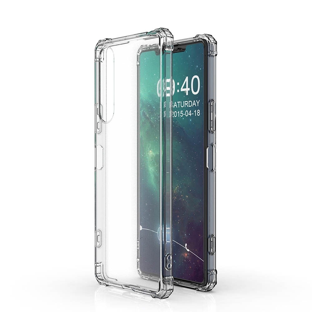 極簡派 Sony Xperia 10 II (二代)抗震透明保護殼
