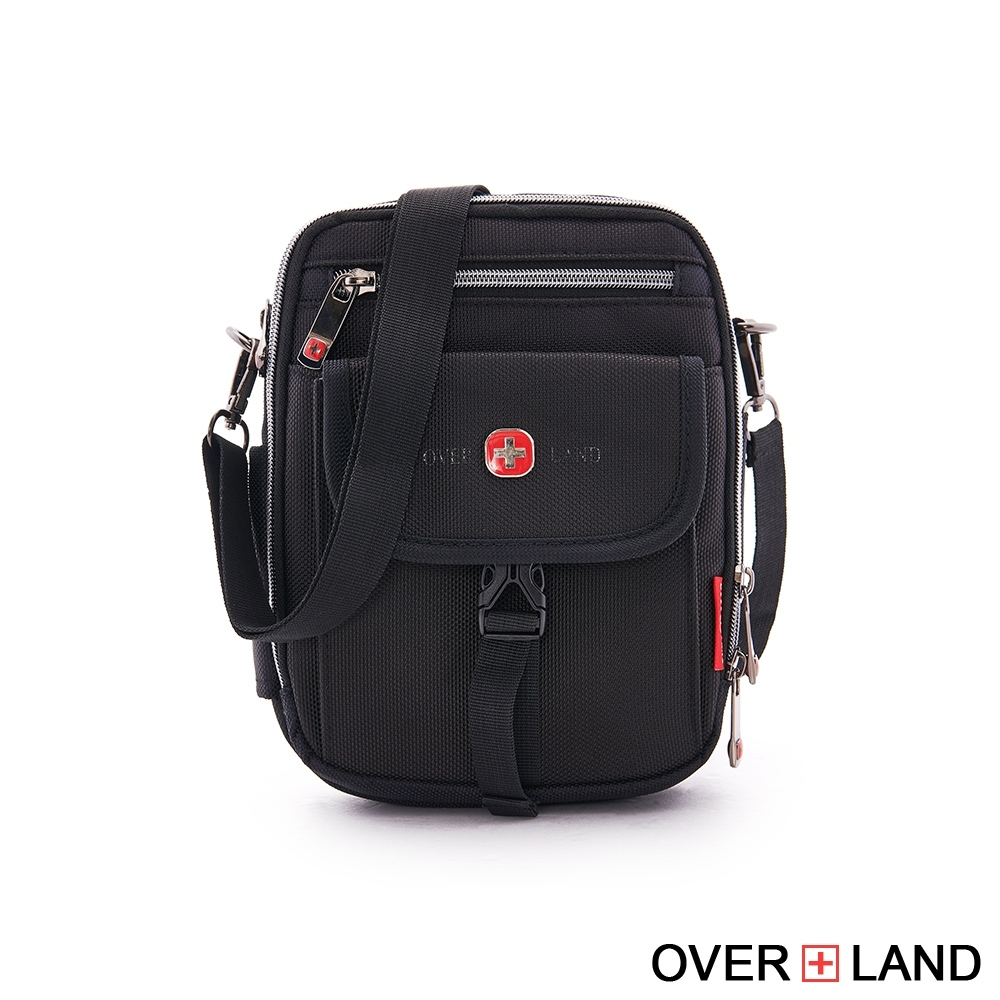 OVERLAND - 美式十字軍 - 輕量防潑水多層斜背腰包 - 5241