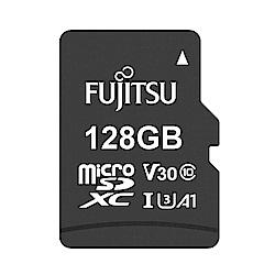 Fujitsu富士通 microSDXC U3 A1 V30 UHS-I 128GB記憶卡