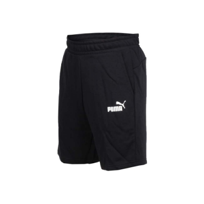 PUMA 男基本系列AMPLIFIED 9吋短褲-五分褲 慢跑 路跑 黑白