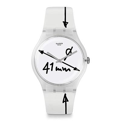 Swatch DRAWING 塗鴉玩心手錶