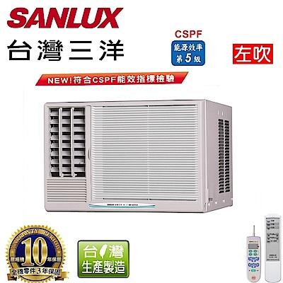 台灣三洋SANLUX 3-5坪窗型定頻左吹式SA-L22FE