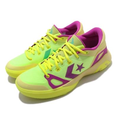 Converse 籃球鞋 G4 Low 低筒 運動 男鞋 避震 包覆 明星款 球鞋 穿搭 黃 紫 169513C