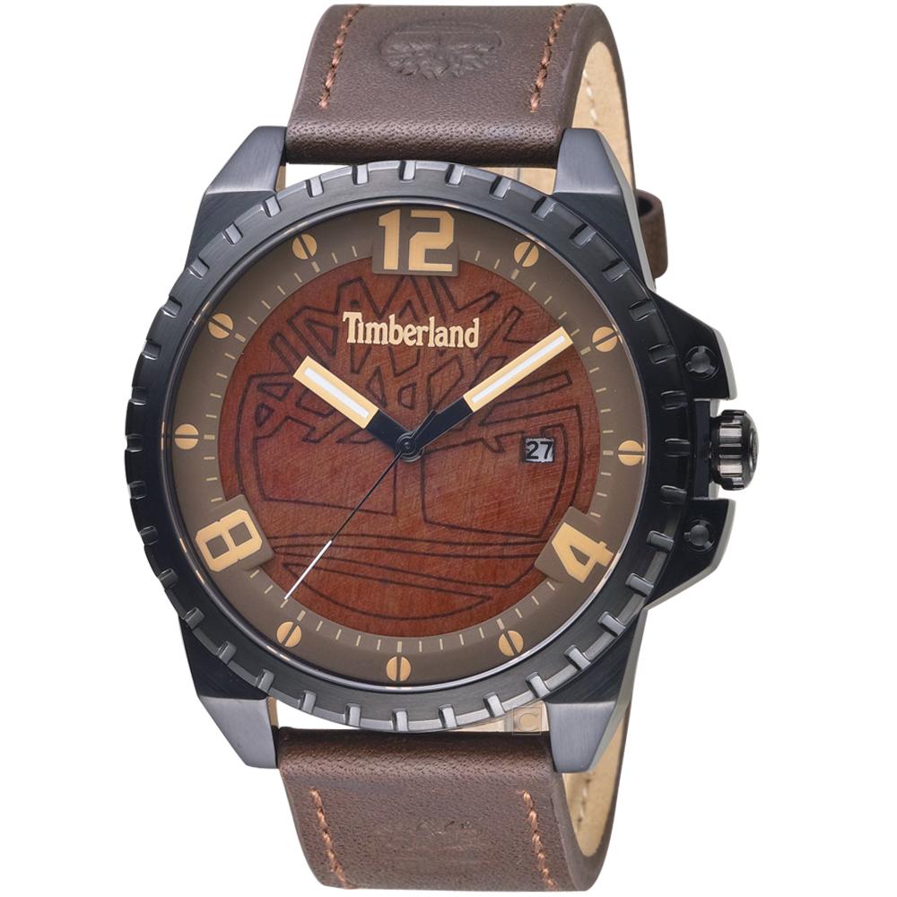 Timberland 越野個性粗獷腕錶(TBL.15513JSB/12)45mm