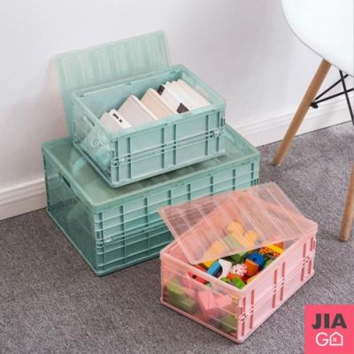 JIAGO 輕巧可摺疊收納箱-中號