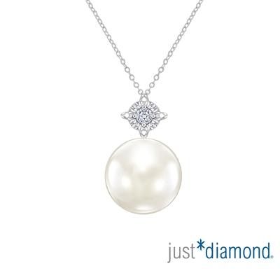 【Just Diamond】Glowing Star 18K金鑽石項鍊