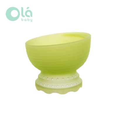 美國 Olababy 小幼苗軟矽膠副食品蒸碗