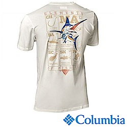 Columbia 哥倫比亞 男款PFG短袖上衣 -UAE00930WT