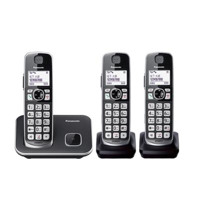 國際牌 PANASONIC KX-TGE613TW DECT 數位三話機無線電話