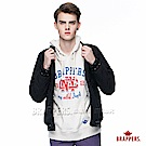 BRAPPERS 男款 緹花羅紋防風舖棉外套-黑