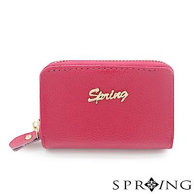 SPRING-微風城市功能卡片包-時尚桃