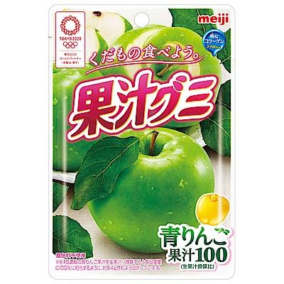 明治 果汁QQ軟糖-青蘋果口味 (47g)