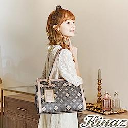 KINAZ 純粹誘人兩用斜背托特包-香水系列