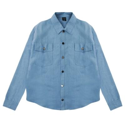 paul frank 藝術家牛仔襯衫-藍(女)