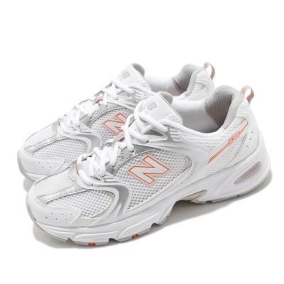 New Balance 休閒鞋 530 老爹鞋 復古 男女鞋 紐巴倫 緩震 透氣 穿搭單品 白 橘 MR530ACD