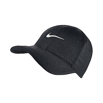Nike FeatherLight Cap 黑 白 帽子