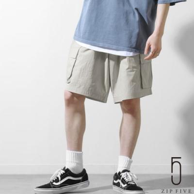 ZIP日本男裝 防水帆布工裝短褲  (3色)
